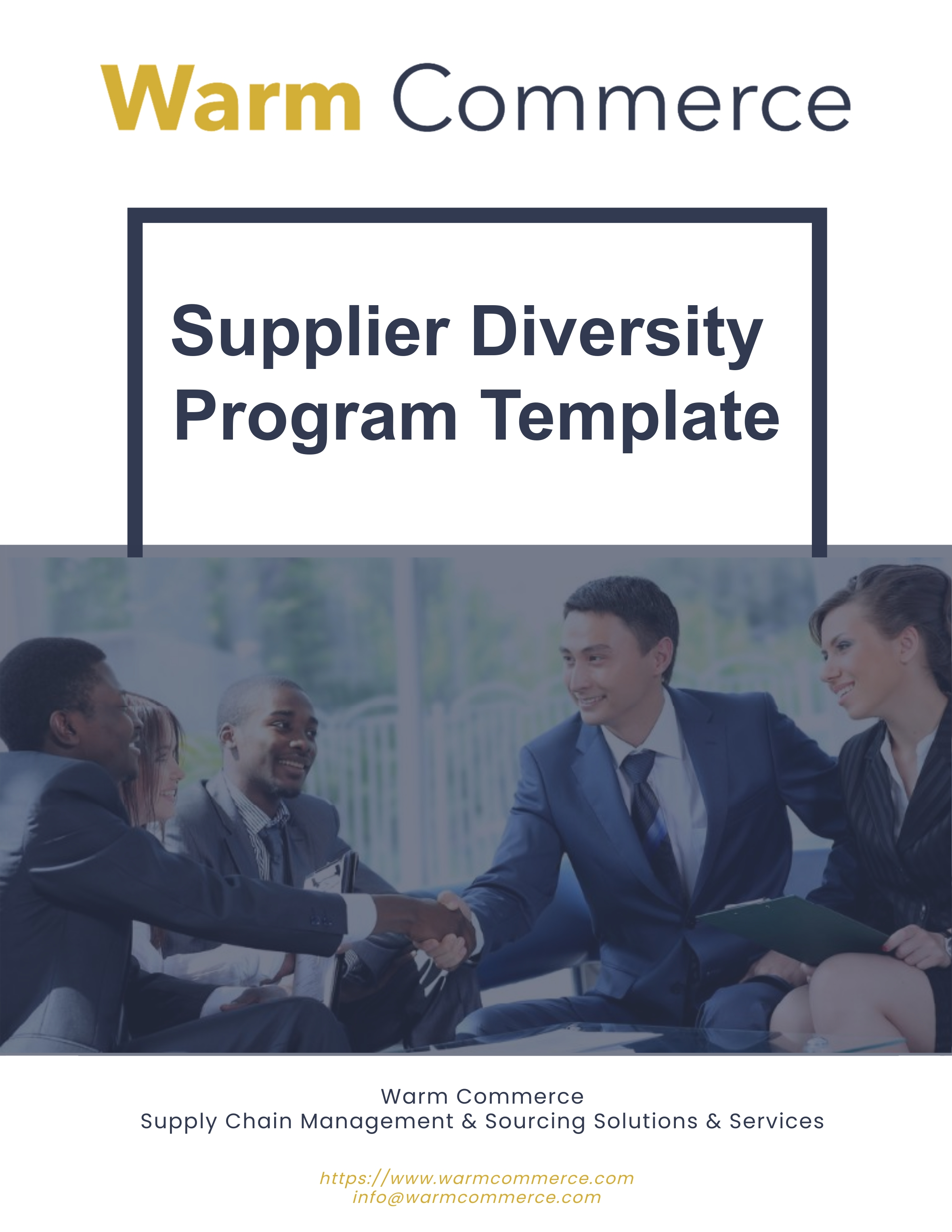 Free Supplier Diversity Program Template